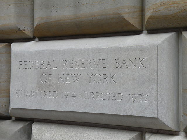 Federal Reserve Bank of New York by cleverdame107